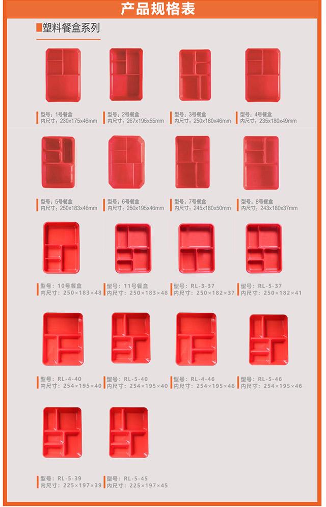 塑料餐盒生产厂家